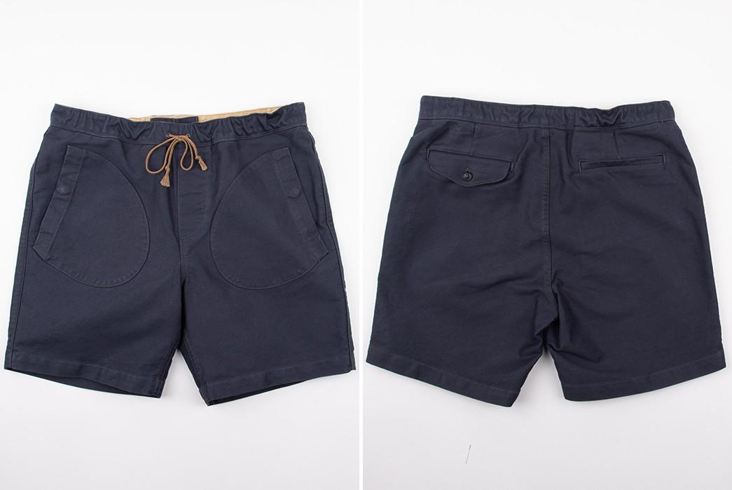 Drawstring-Easy-Shorts---Five-Plus-One 1) Freenote Cloth: Deck Shorts