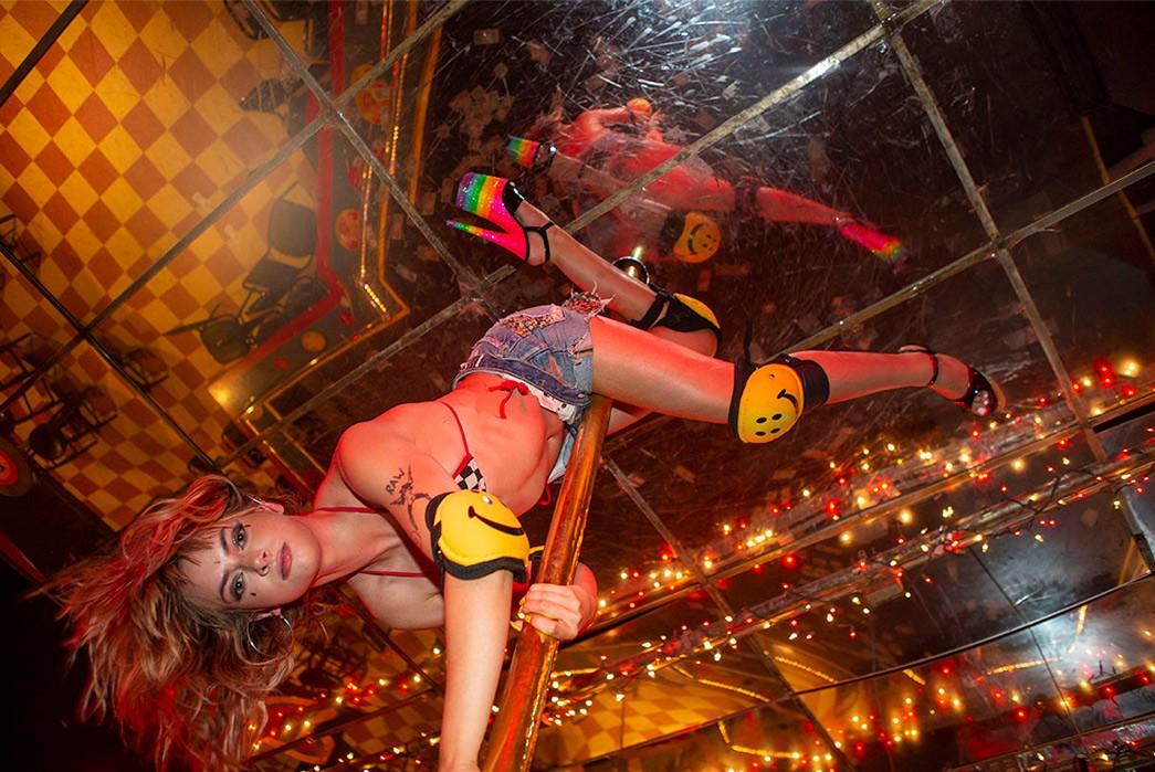 Erik-Kvatek-Shoots-Provocative-Lookbook-For-Kapital-Kountry-female-in-striptease-bar