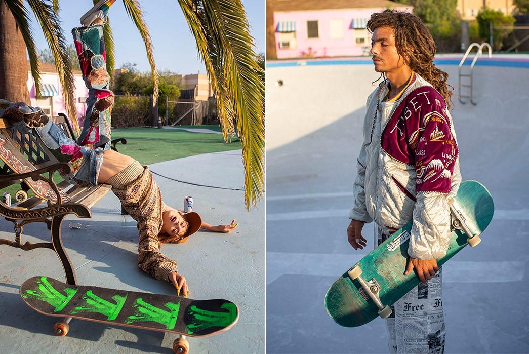 Erik-Kvatek-Shoots-Provocative-Lookbook-For-Kapital-Kountry-males-with-green-skates
