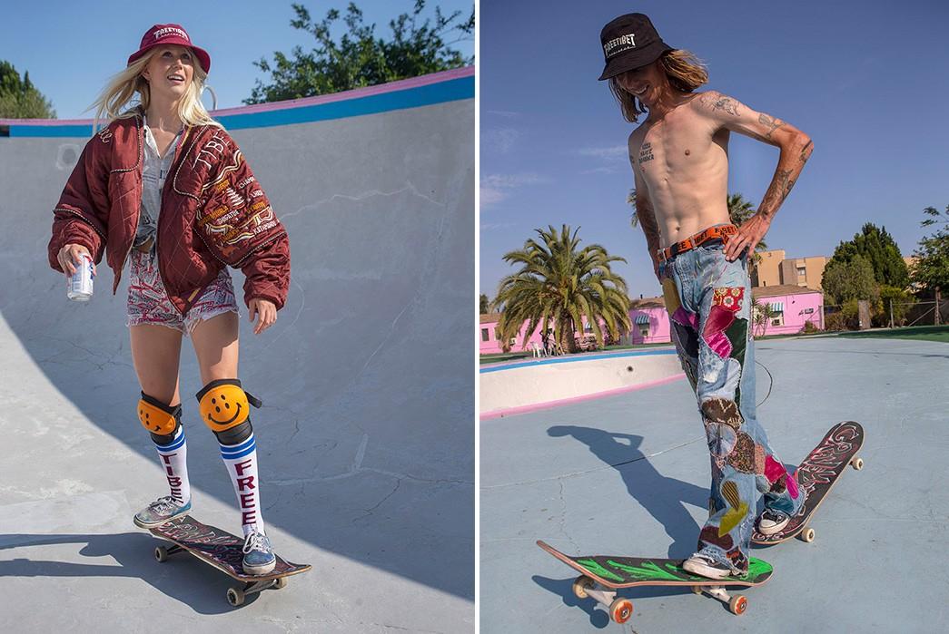 Erik-Kvatek-Shoots-Provocative-Lookbook-For-Kapital-Kountrz-female-and-male-on-skates