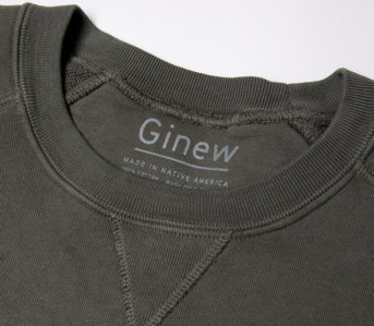 Ginew's-Team-Crew-Sweats-Are-Based-On-Erik-Brodt's-Old-College-Sweatshirts