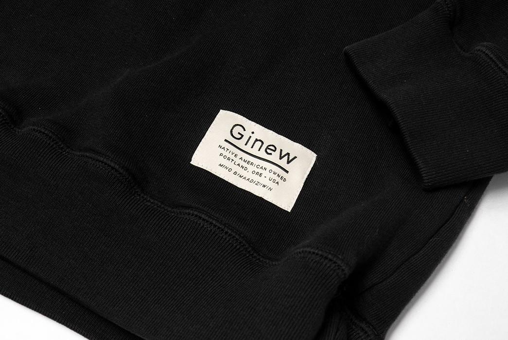 Ginew's-Team-Crew-Sweats-Are-Based-On-Erik-Brodt's-Old-College-Sweatshirts-black-brand