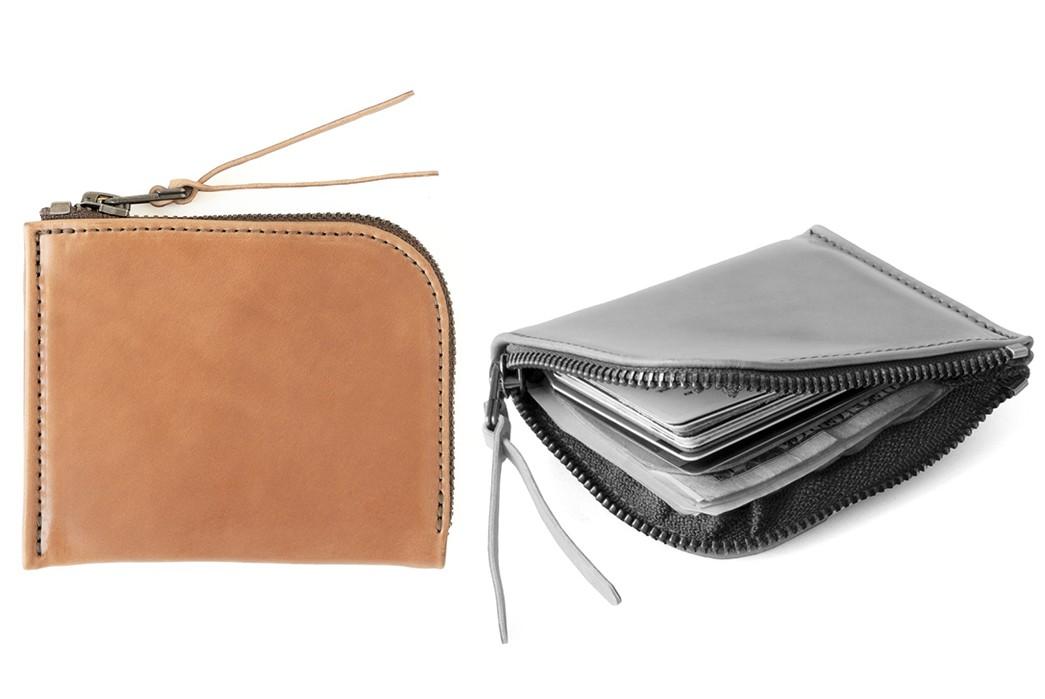 Leather-Zip-Wallets---Five-Plus-One-5)-Makr-Revised-Cordovan-Zip-Wallet