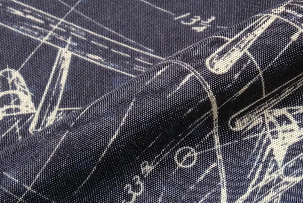Old-Joe-Brand-Scanned-Original-Blueprints-For-Its-211OJ-SH08-Shirt-detailed