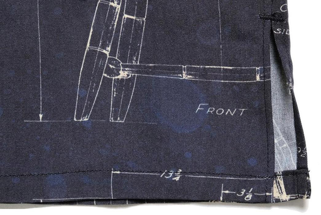 Old-Joe-Brand-Scanned-Original-Blueprints-For-Its-211OJ-SH08-Shirt-down-selvedge