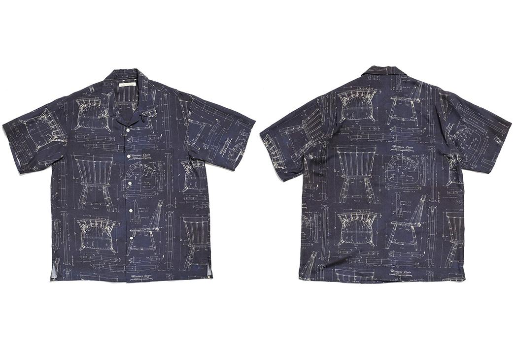 Old-Joe-Brand-Scanned-Original-Blueprints-For-Its-211OJ-SH08-Shirt-front-back