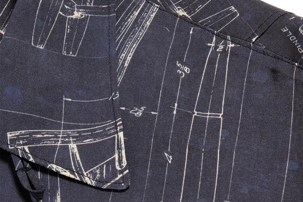 Old-Joe-Brand-Scanned-Original-Blueprints-For-Its-211OJ-SH08-Shirt-front-left-collar-wing