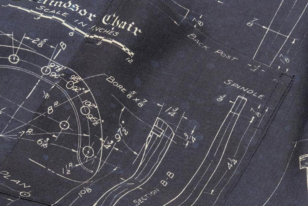 Old-Joe-Brand-Scanned-Original-Blueprints-For-Its-211OJ-SH08-Shirt-pocket