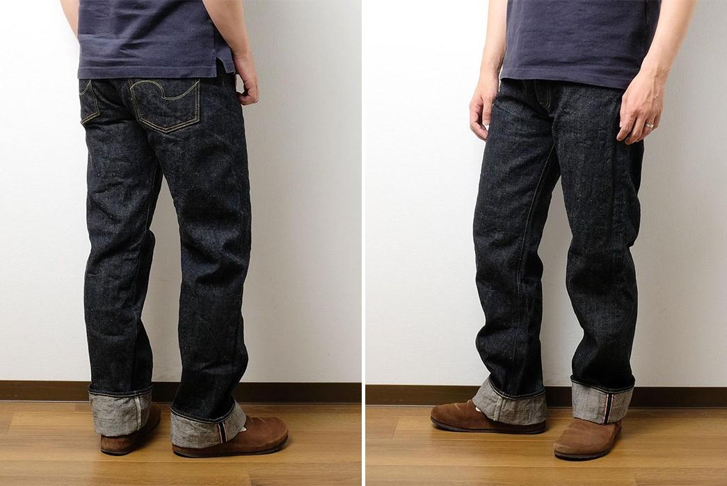 ONI-Renders-Relaxed-Straight-Jeans-In-Demonic-Natural-Indigo-Selvedge-Denim-model-sides