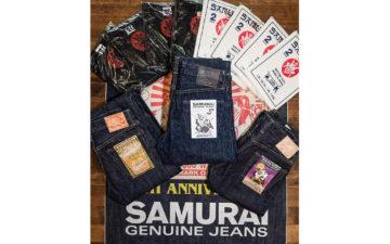 Self-Edge-Welcomes-Samurai-Denim-To-Its-Roster