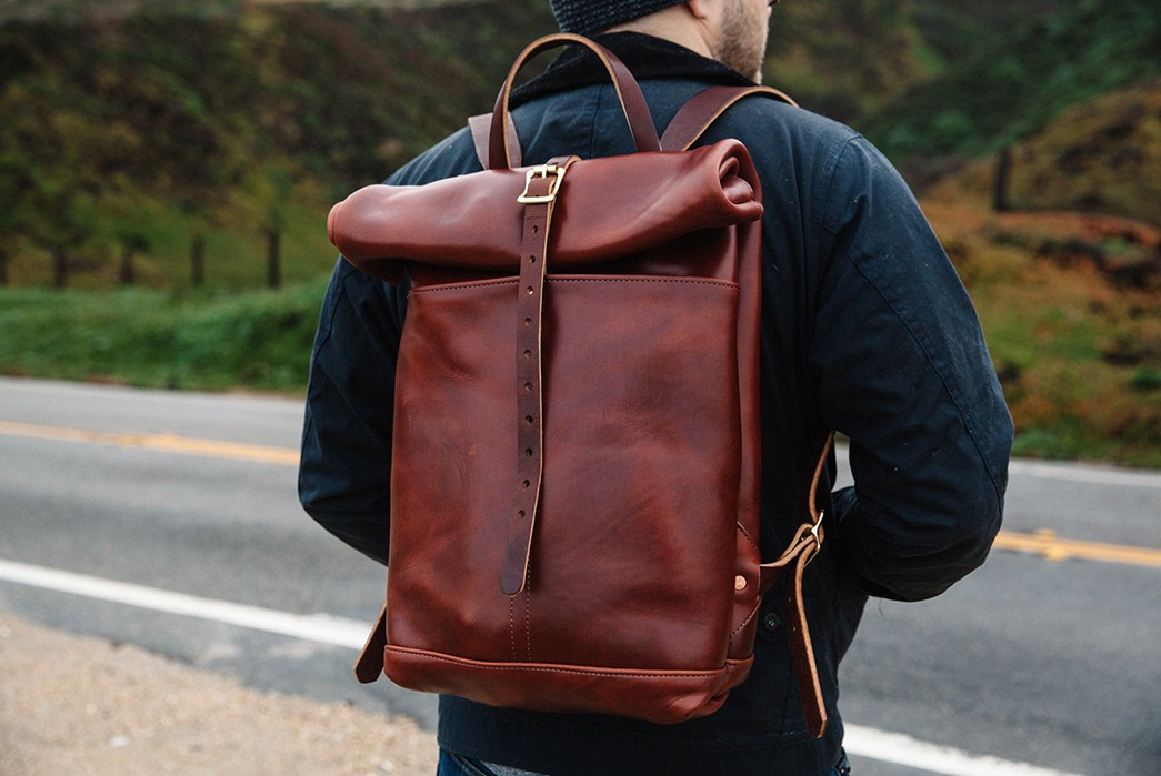 Start-A-Patina-Adventure-With-Loyal-Stricklin's-Leather-Rucksack-model-back