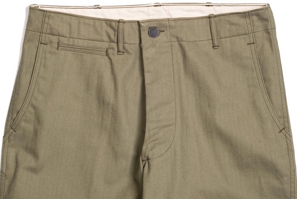 Warehouse-&-Co.'s-Lot-1217-M-42-HBT-Pants-Are-Far-From-Drab-front-top