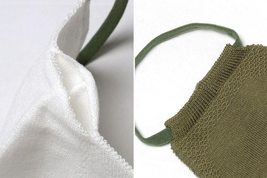 Buzz-Rickson's-Made-Face-Masks-white-and-green