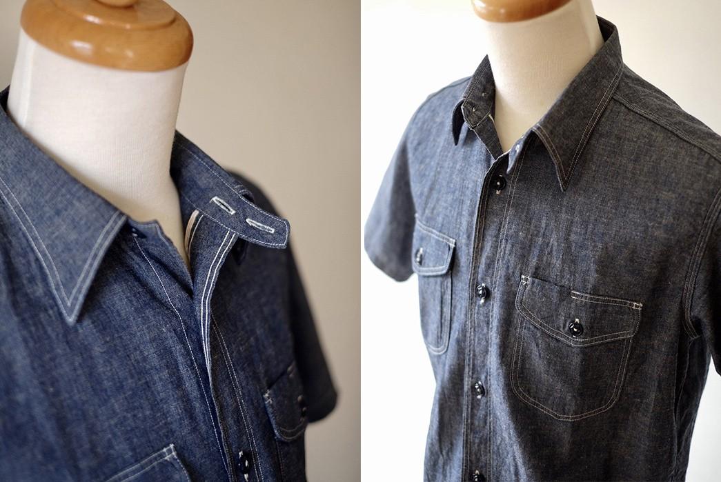 Cool-Off-With-The-Rite-Stuff's-Linen-Blend-Bantam-Short-Sleeve-Work-Shirt-front-detailed