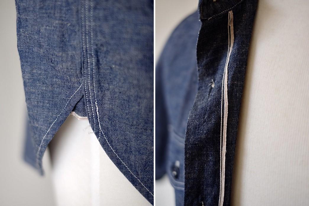 Cool-Off-With-The-Rite-Stuff's-Linen-Blend-Bantam-Short-Sleeve-Work-Shirt-selvedges