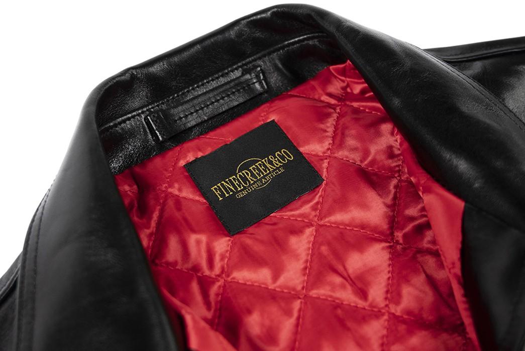 Fine-Creek-Horsehide-Jacket-Tylor-front-top-collar-inside-brand