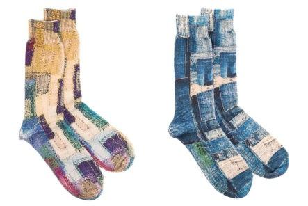 Go-Hemp-With-Anonymous-Ism's-Patchwork-Print-Crew-Socks
