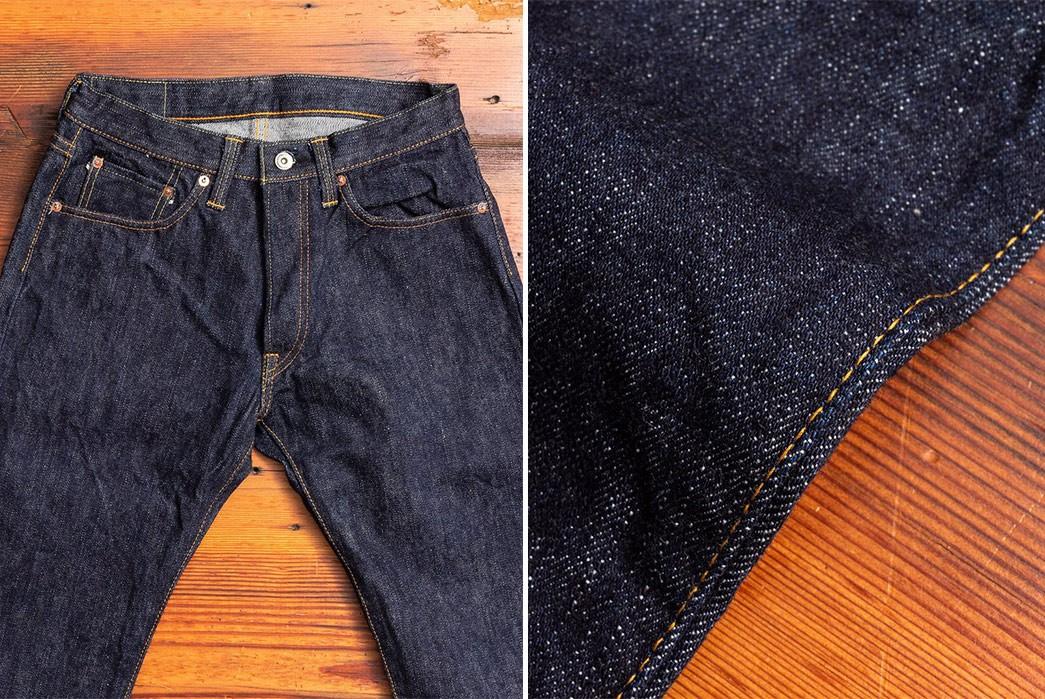 Heavyweight-Jeans-Part-II---Five-Plus-One-2)-Samurai-S511XX19ozII-Kiwami-II-19Oz.-Selvedge-Denim---Slim-Tapered-Fit