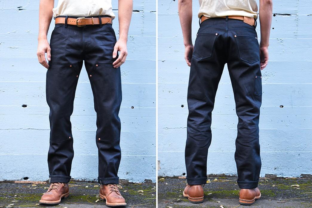 Indigo-Indigo-Selvedge-Jeans---Five-Plus-One 1) Grease Point Workwear: Work Jean
