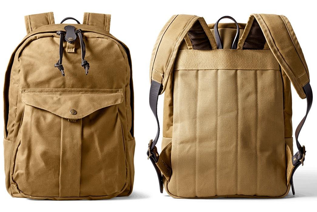 Laptop-Friendly-Daypacks---Five-Plus-One-Plus-One---Filson-Journeyman-Backpack