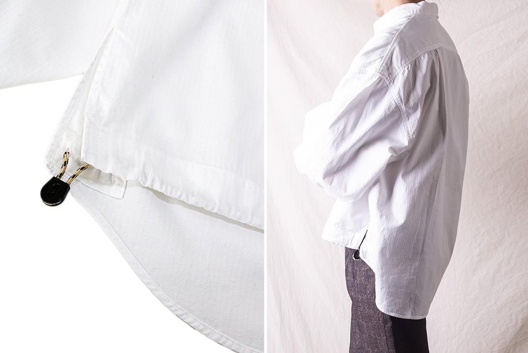 Pop-Over-Kapital's-Herringbone-Twill-Shirt-Anorak-detailed