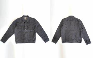 Samurai-Serves-Up-An-Inky-Selvedge-Denim-Rider-Jacket-In-Broken-Twill-front-back