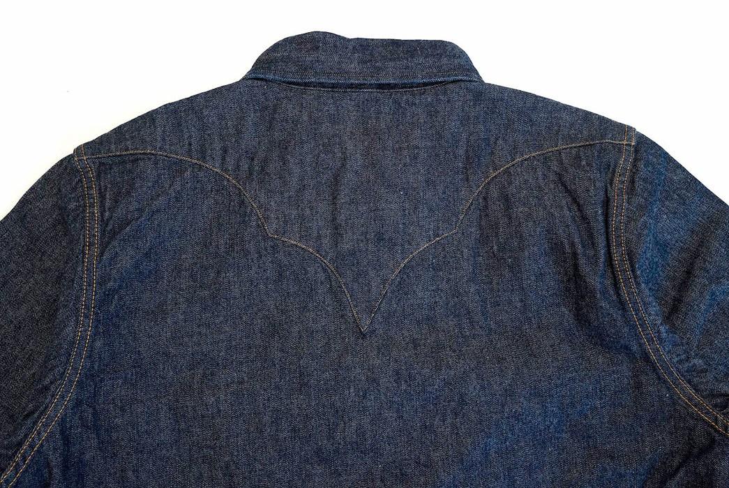 Samurai's-10.5-oz.-Type-2-Western-Shirt-Is-A-Cut-Above-back-top