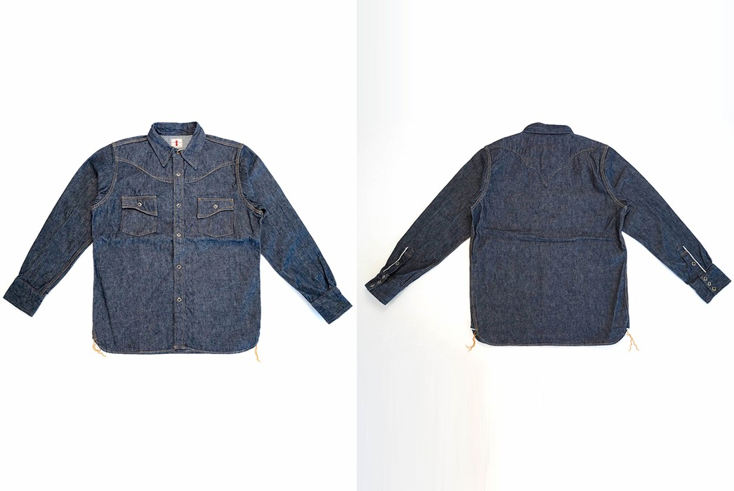 Samurai's-10.5-oz.-Type-2-Western-Shirt-Is-A-Cut-Above-front-back