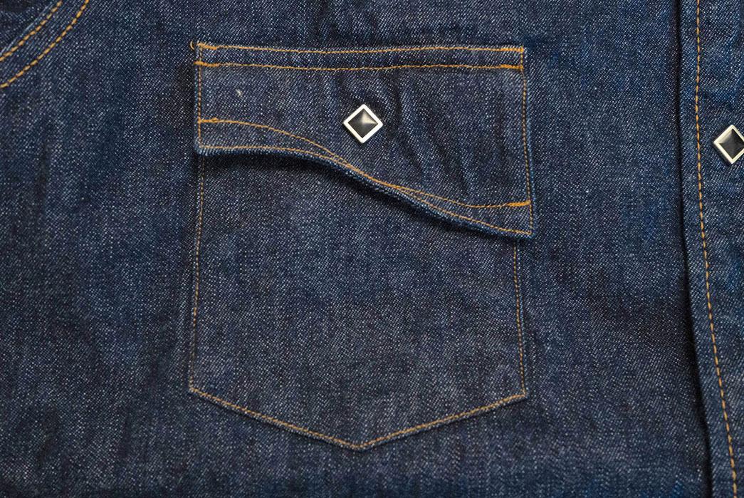 Samurai's-10.5-oz.-Type-2-Western-Shirt-Is-A-Cut-Above-front-pocket