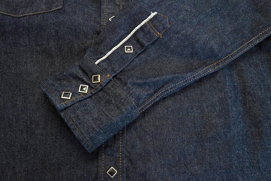 Samurai's-10.5-oz.-Type-2-Western-Shirt-Is-A-Cut-Above-sleeve