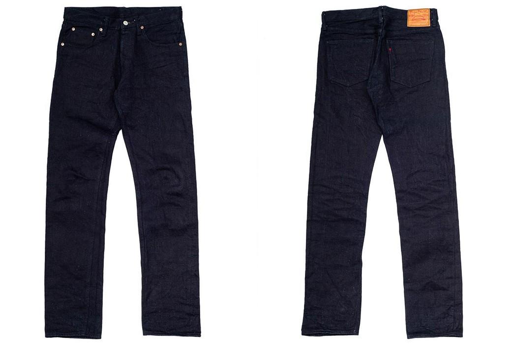 Tighten-Up-With-The-Burgus-Plus-Lot.-850-Indigo-x-Black-15.5oz-Jean-front-back