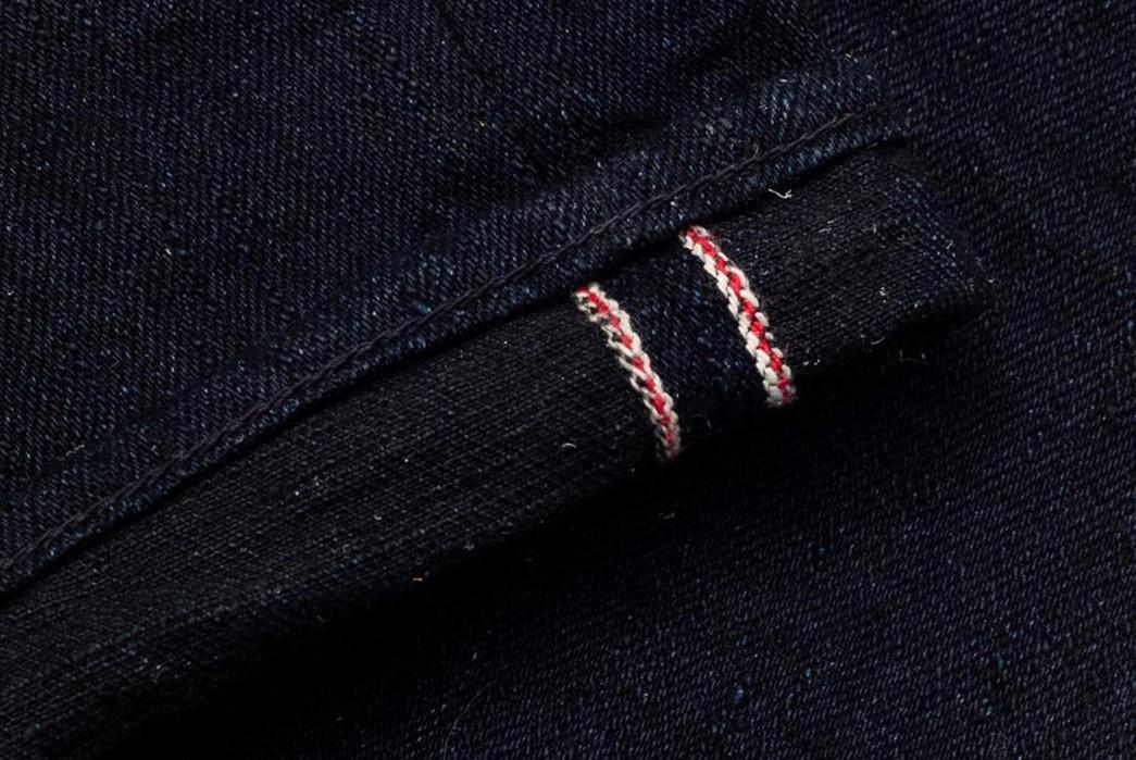 Tighten-Up-With-The-Burgus-Plus-Lot.-850-Indigo-x-Black-15.5oz-Jean-leg-selvedge