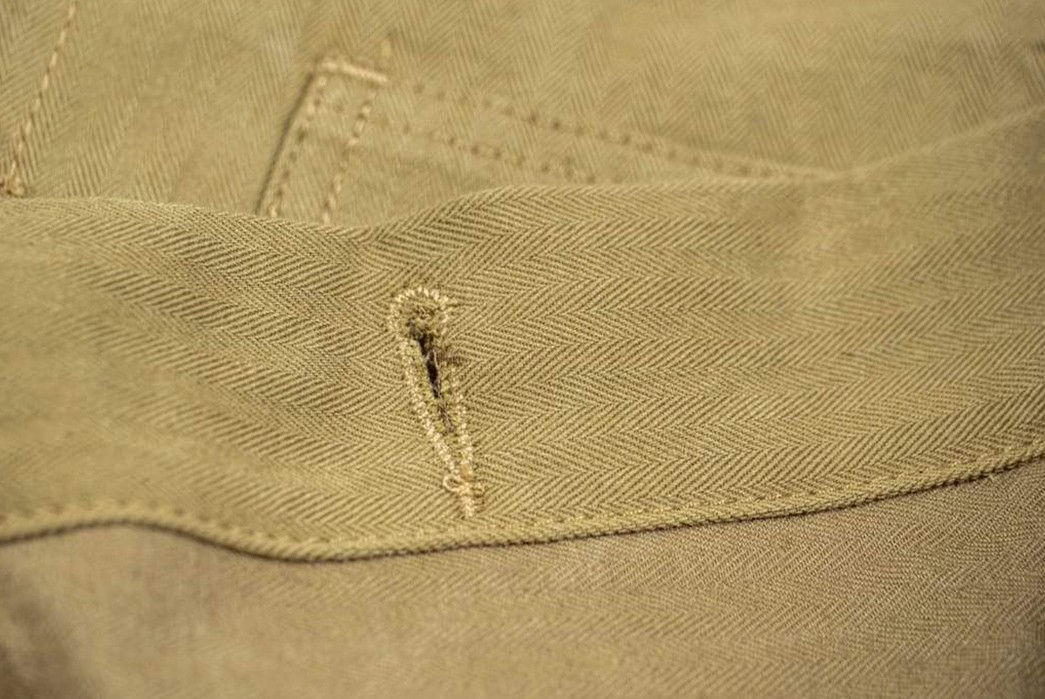 3sixteen-Renders-Its-Pared-Back-Type-1-In-Japanese-Herringbone-Twill-button-hole