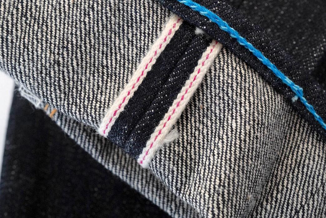 Cash-In-With-Corlection-X-Studio-D'Artisan's-'Indigo-Piggy-Bank'-Collab-leg-selvedge