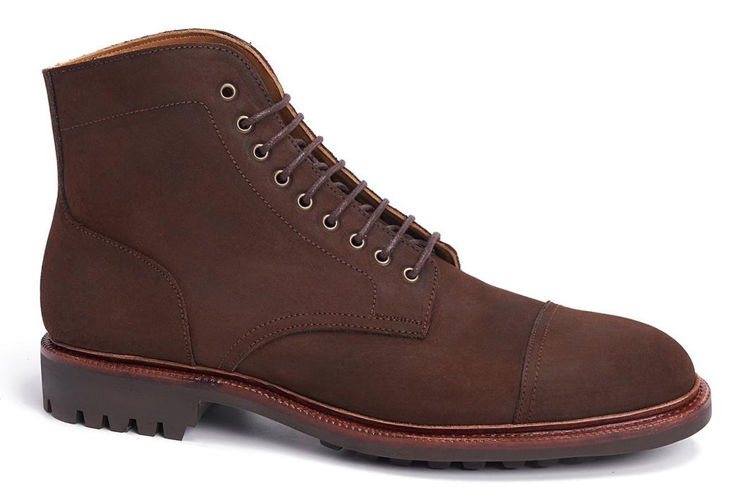 Commando-Sole-Boots---Five-Plus-One 1) Meermin: Rust Waxy Commander
