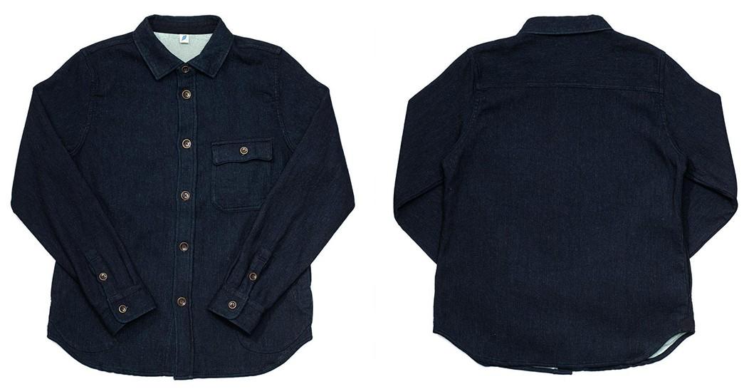 Denim-Shirts---Five-Plus-One-5)-Pure-Blue-Japan-Raised-Back-CPO-Shirt