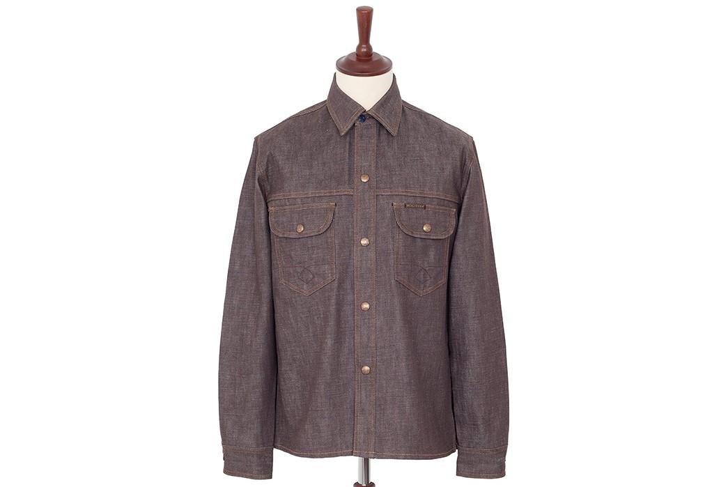 Denim-Shirts---Five-Plus-One-Plus-One---Indigofera-Fargo-Shirt-in-Low-Desert-Denim