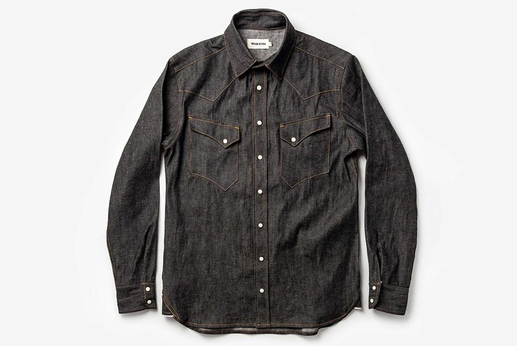 Denim-Shirts---Five-Plus-One 1) Taylor Stitch: The Western Shirt