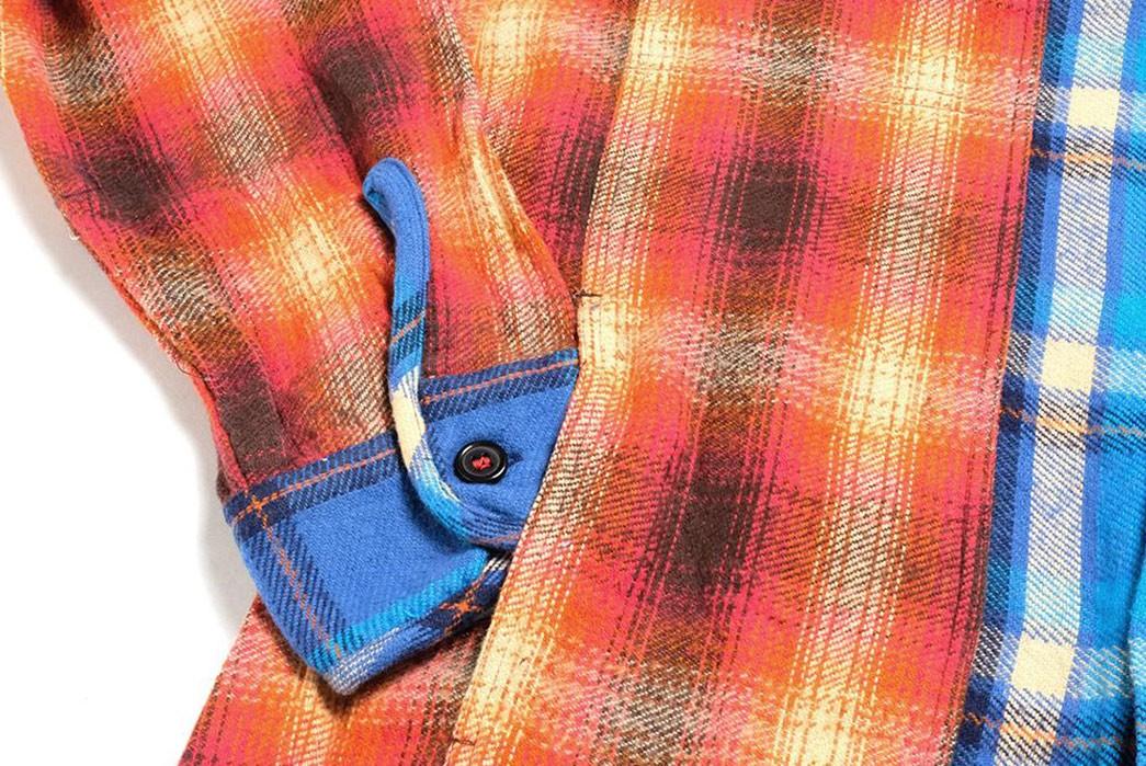 Hollywood-Ranch-Market-Sews-Up-A-Charming-Franken-Flannel-sleeve-in-pocket