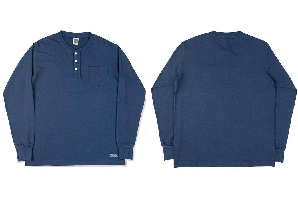 Long-Sleeve-Henleys---Five-Plus-One-4)-Trophy-Clothing-Long-Sleeve-Indigo-Henley