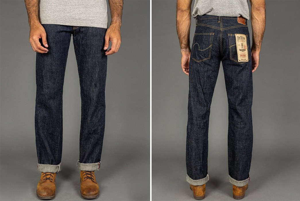 ONI-Applies-A-Natural-Indigo-Version-Of-Its-XX-Denim-To-Its-'Wide'-Straight-Jeans-model-front-back