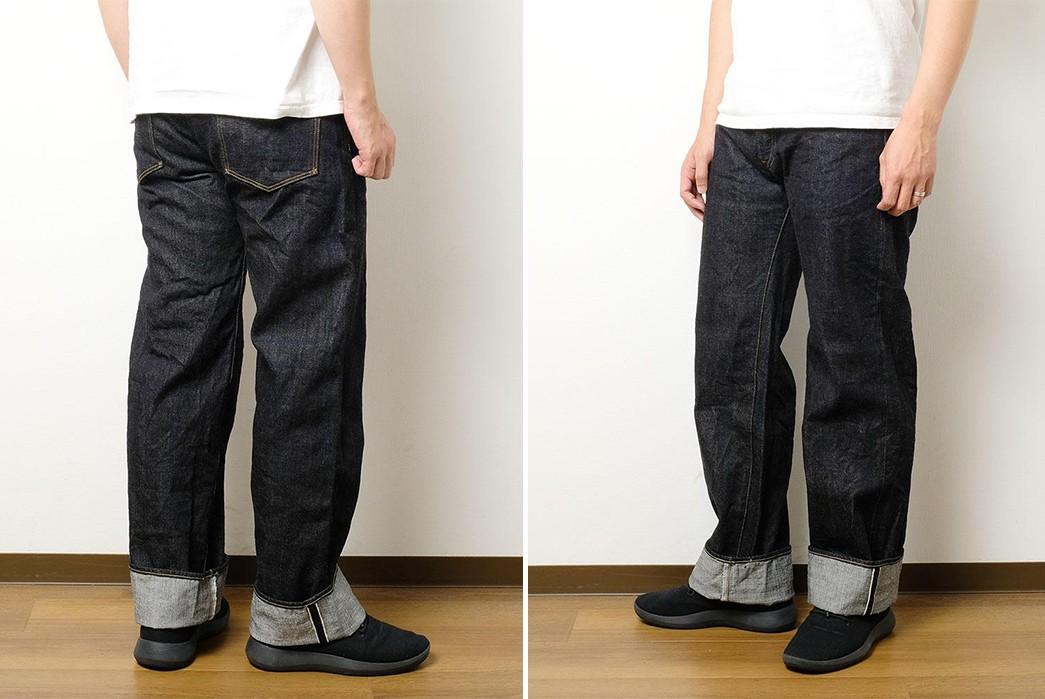 ONI-Denim-Brings-Its-Demon-Denim-To-'Wide-Straight'-200-Fit-back-front-sides-model