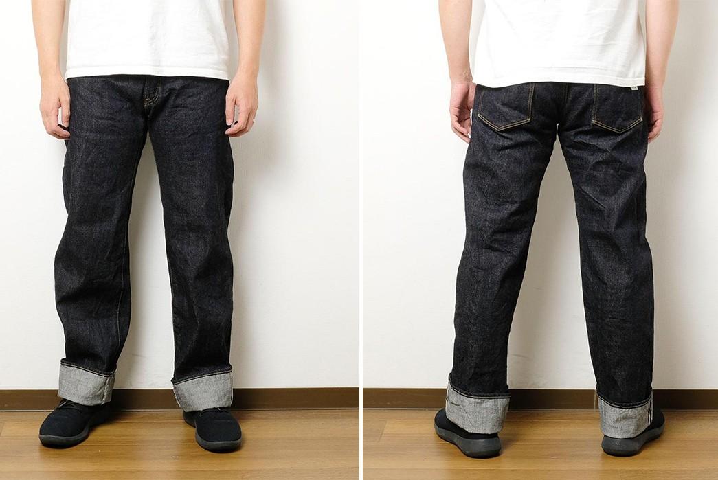 ONI-Denim-Brings-Its-Demon-Denim-To-'Wide-Straight'-200-Fit-front-back-model