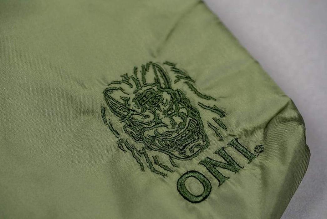 ONI-Swaps-Slub-for-Nylon-With-Its-New-Sacoches-green-brand