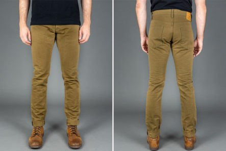 Red-Cast-Heritage-x-ONI-622HOX-Heavy-Oxford-Relaxed-Tapered-Jeans-model-front-back