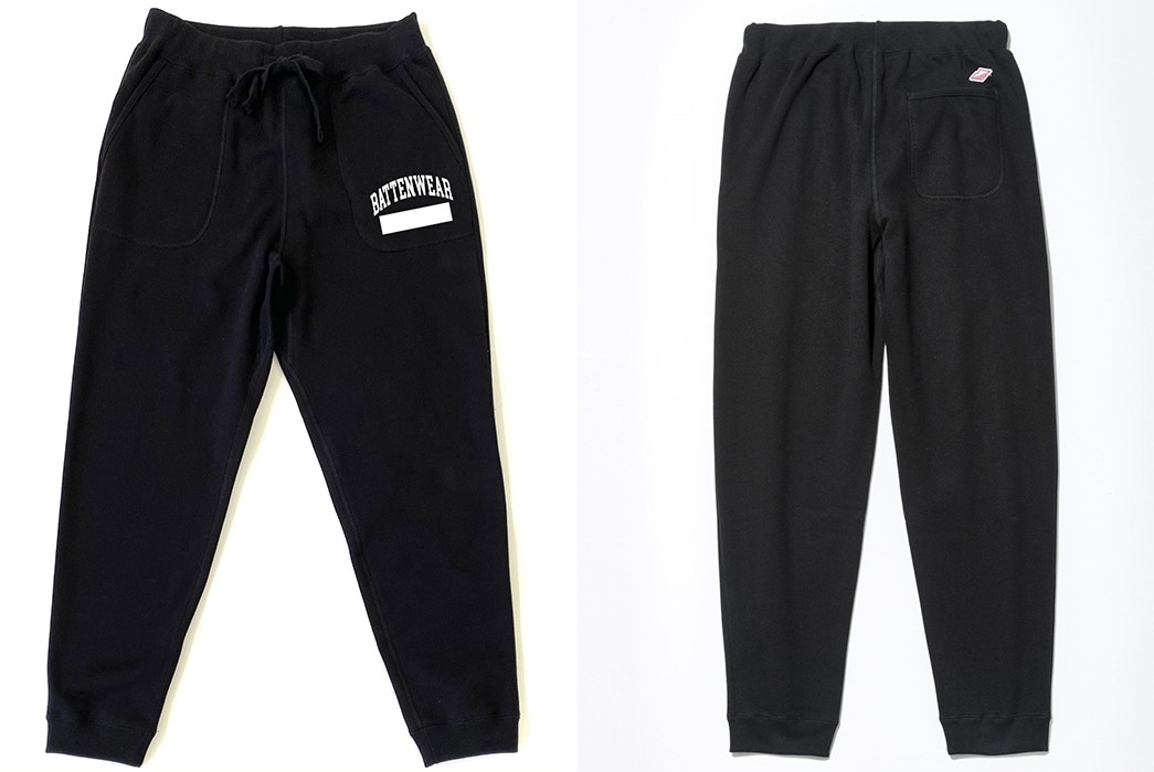 These-Battenwear-Tracksuits-Could-Be-Your-New-WFH-Uniform-black-pants-front-back