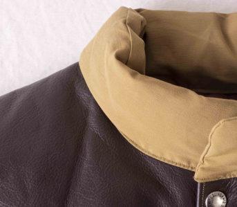 Puffer-Vests---Five-Plus-One-4)-Sugar-Cane-Leather-Yoke-Down-Vest-collar