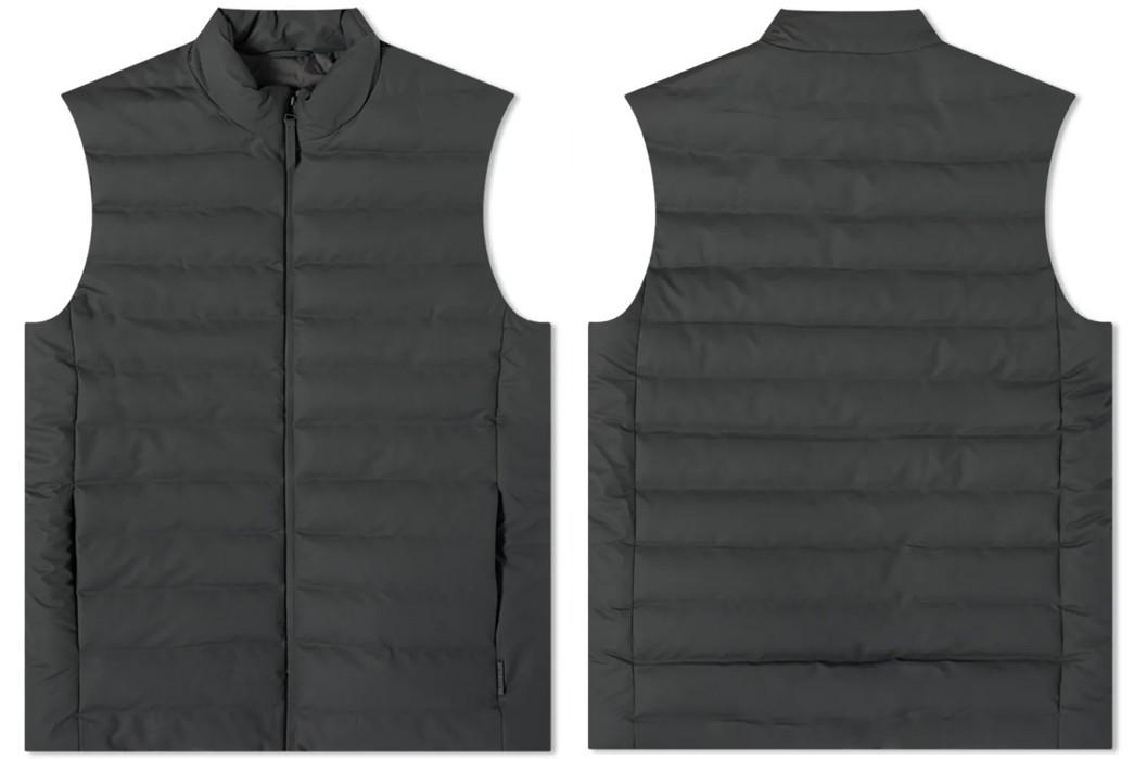 Puffer-Vests---Five-Plus-One 1) RAINS: Trekker Vest