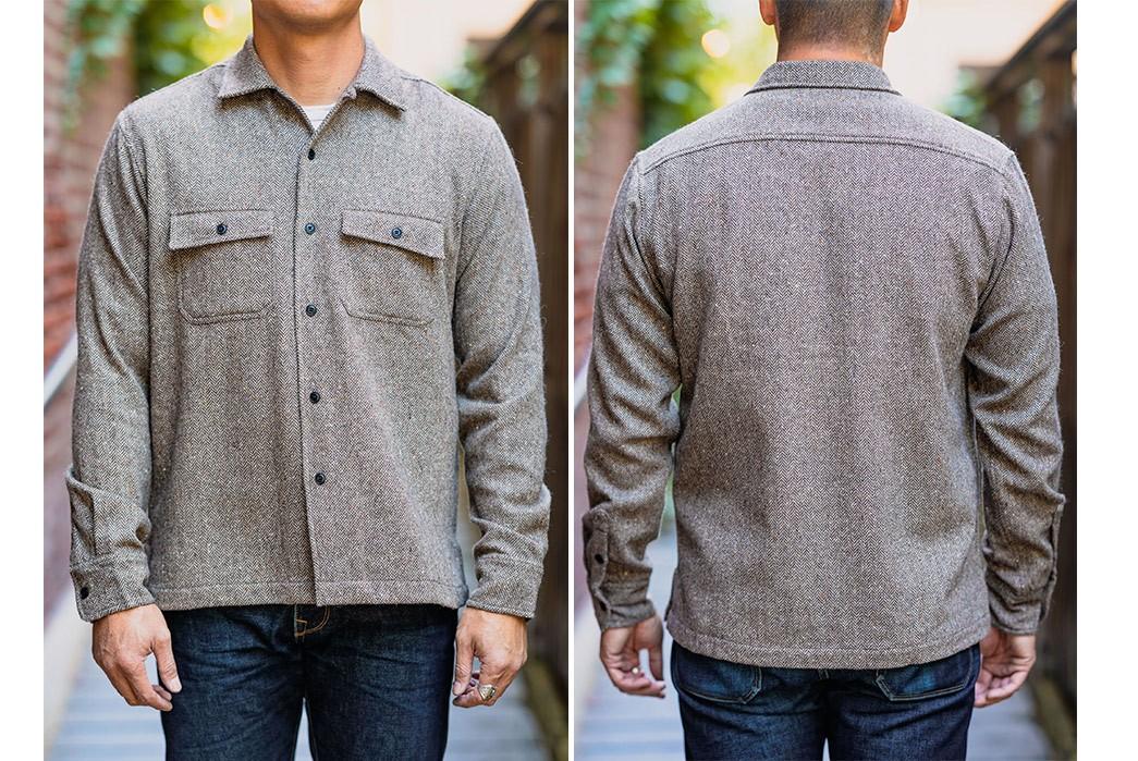 This-3sixteen-Shirt-Splices-Wool-Tweed-&-Herringbone-Twill-model-front-back