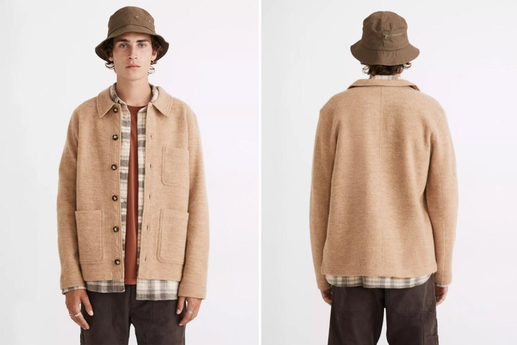 Wool-Chore-Coats---Five-Plus-One 1) Madewell: Boiled Wool Chore Coat